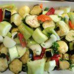 Приготовление запеченных овощей в духовке