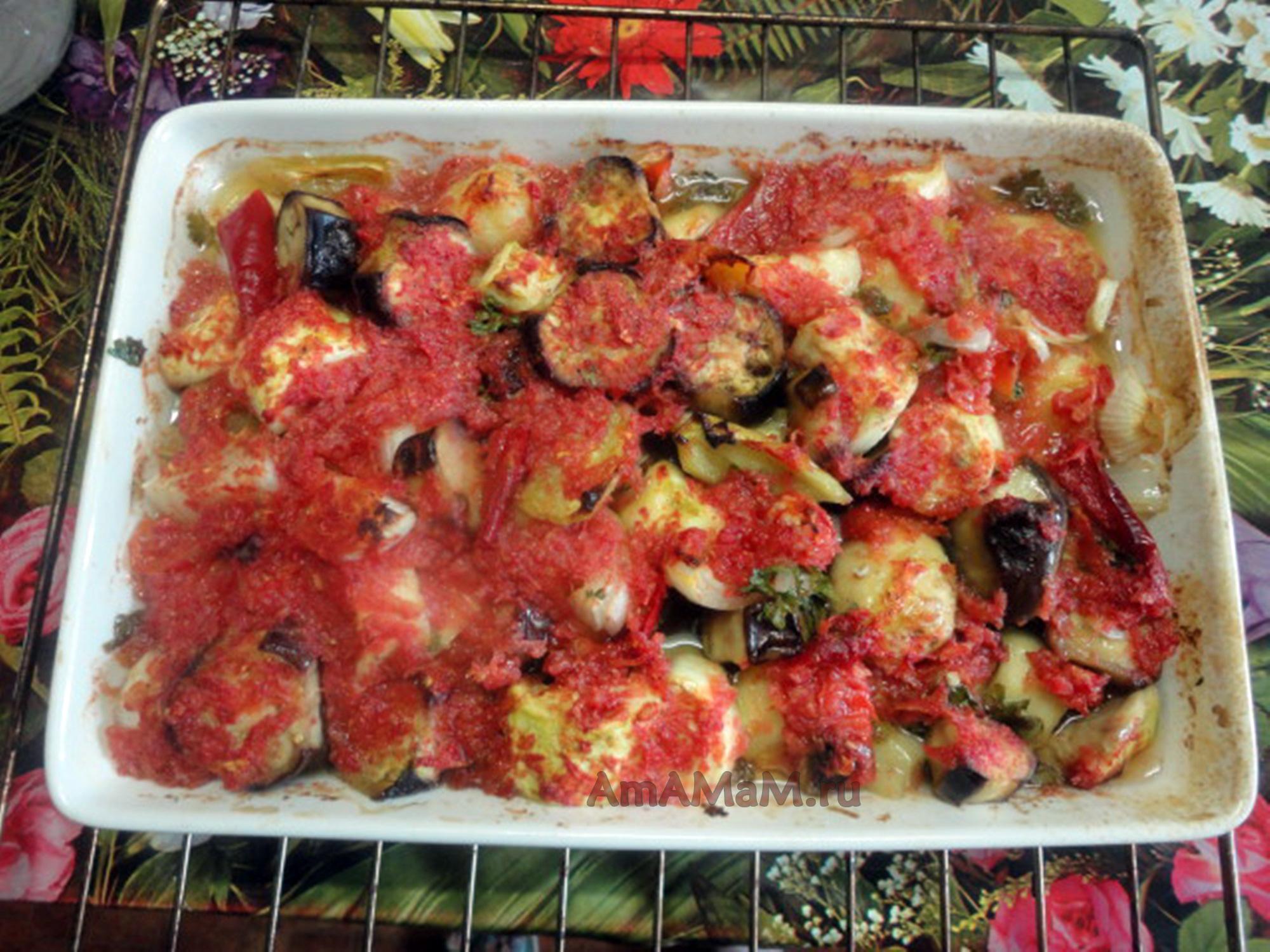Овощные рагу в духовке - рецепты