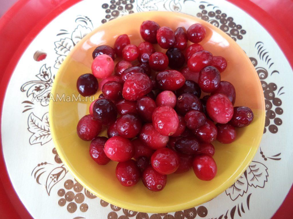 Брусника - рецепты и фото