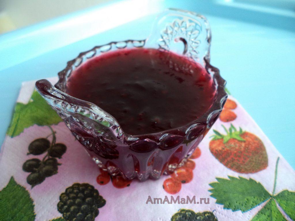 Желейный джем из ежевики - рецепт и фото