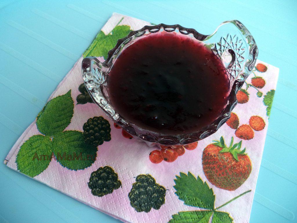 Ежевика - рецепт варенья