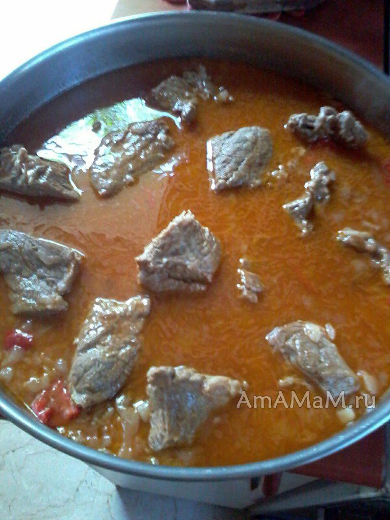Приготовление ювеци - греческий гювеч с телятиной