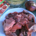 Ингредиенты гювеча с орзо (ювеци с говядиной и критараки)