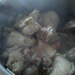 Приготовление гювеча с говядиной (ювеци с критараки)