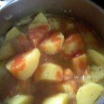 Рецепт пататес яхни - заявка томатного сока