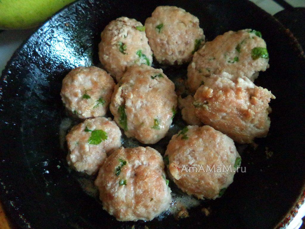 Жареные котлеты на сковороде - рецепт и фото