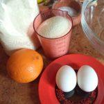 Ингредиенты для оладий из яблок