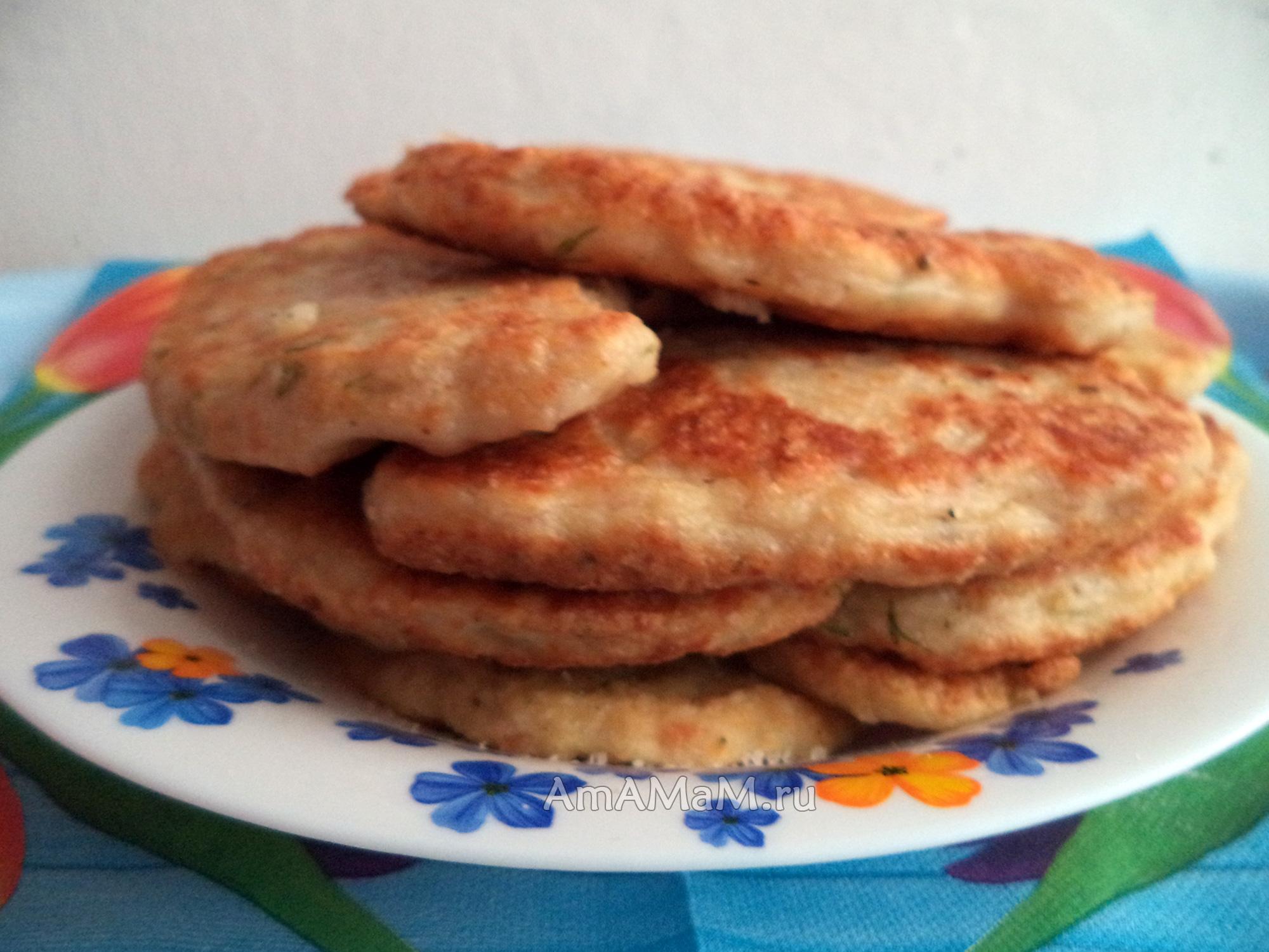 Рецепт: Оладьи из печени на m 67