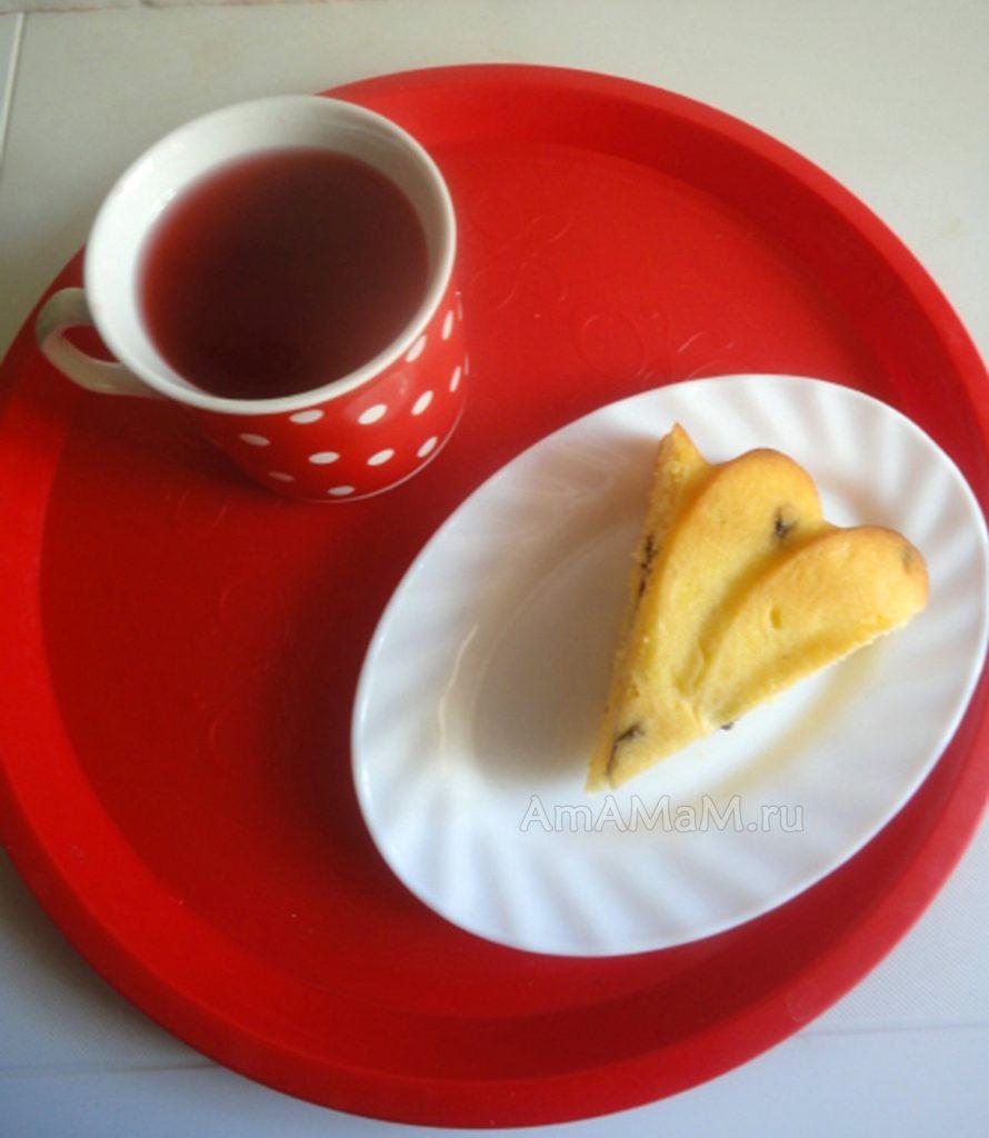 Рецепт пирога с кукурузной мукой