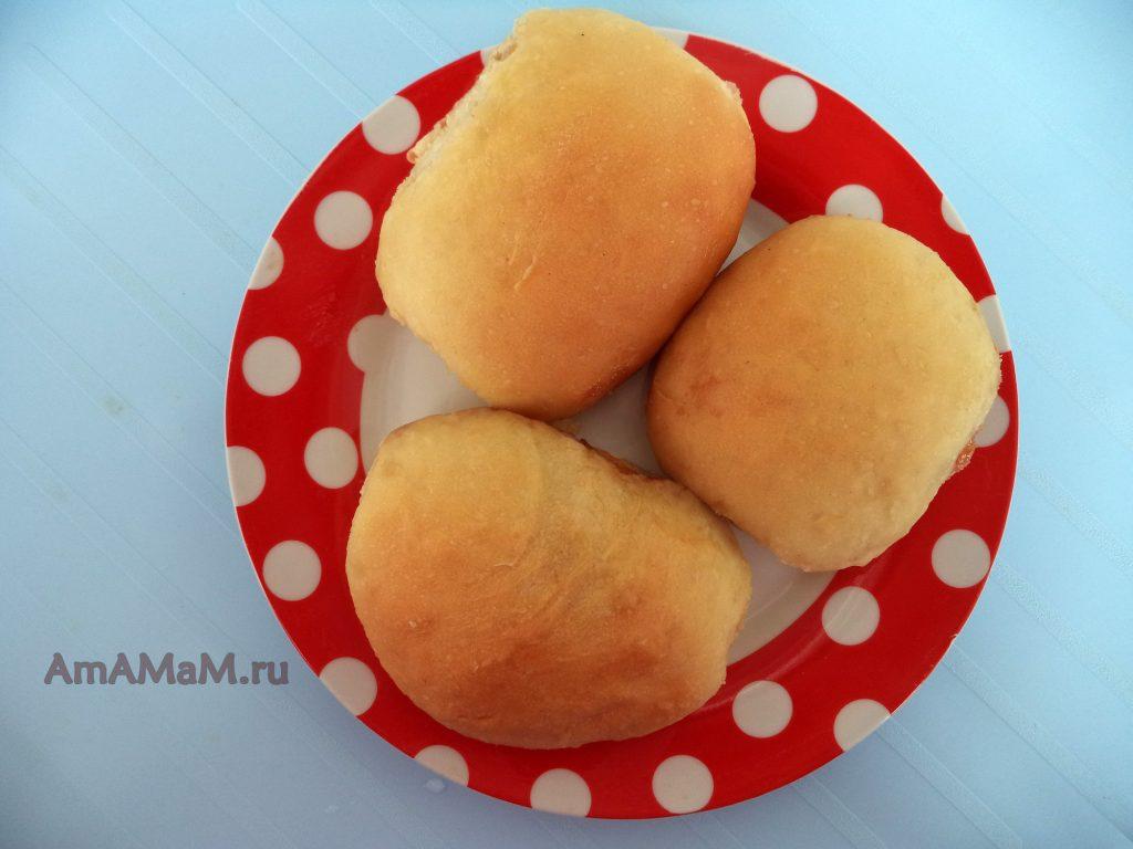 Печеные пирожки с повидлом