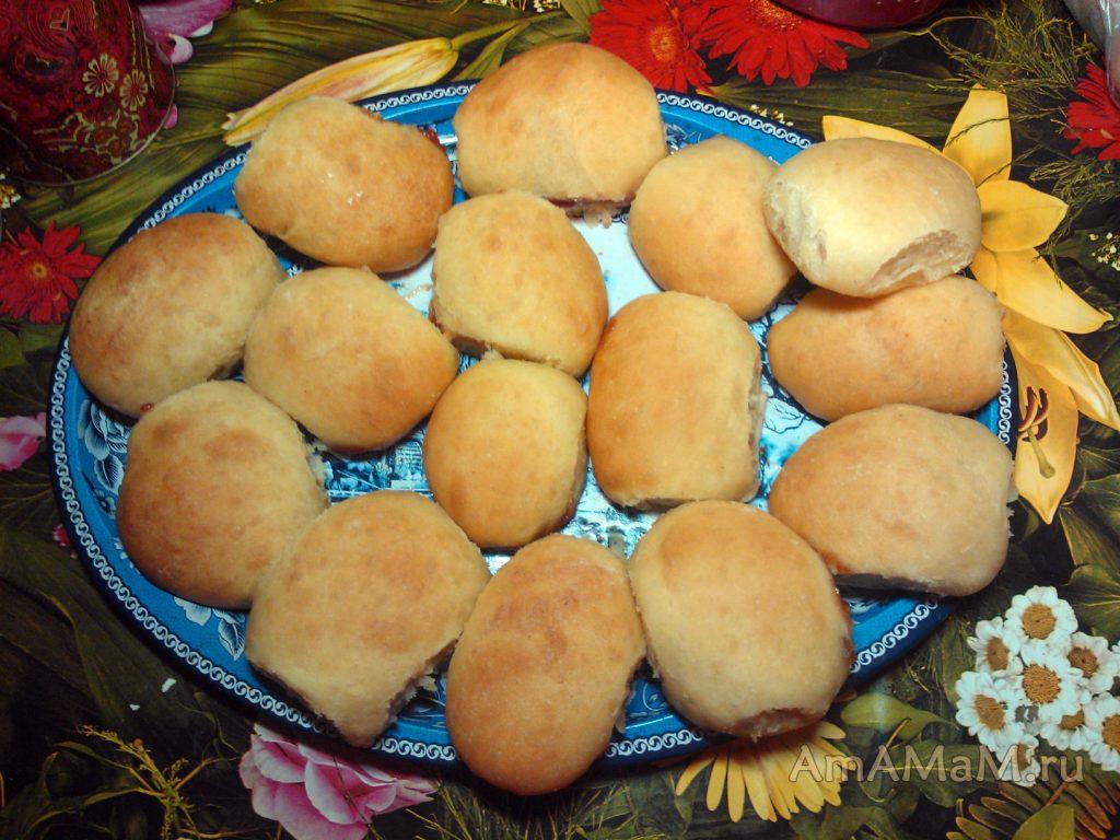 Рецепт пирожков с повидлом и фото