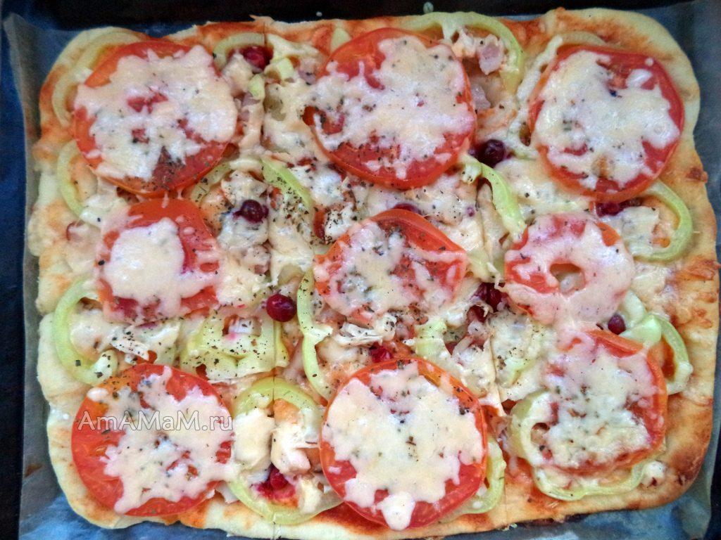 Рецепт пиццы на дрожжевом тесте своими руками с пошаговыми фото