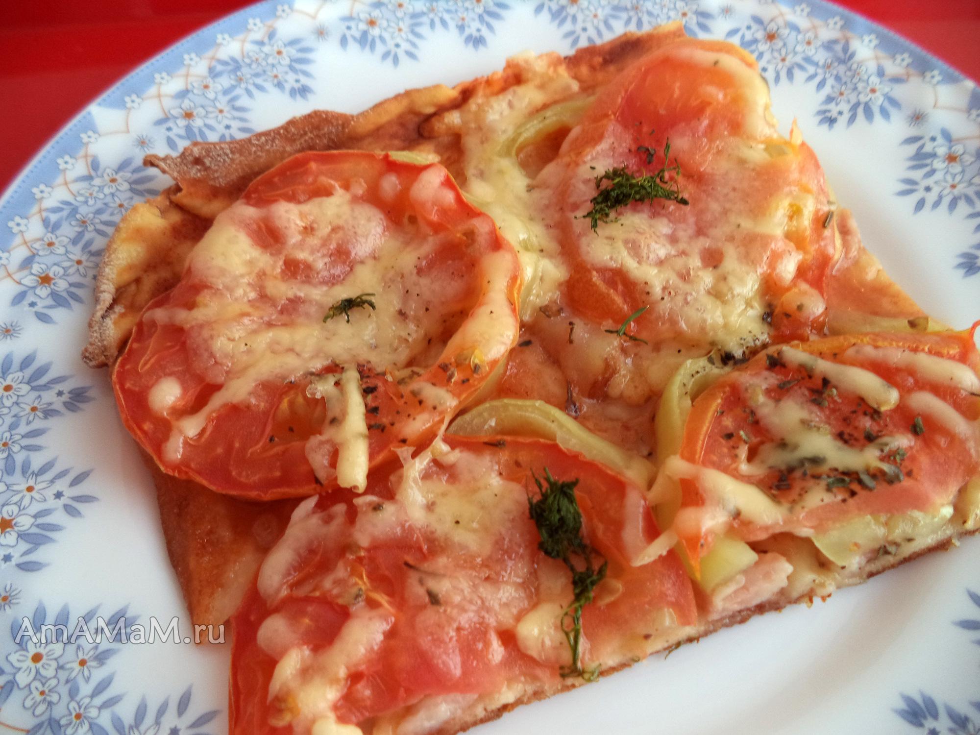 Пицца в духовке с шампиньонами рецепт пошагово