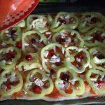 Пицца с брусникой и клюквой