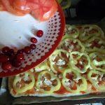 Пицца со сладким перцем - фото и рецепт