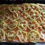 Пицца со сладким перцем - фото сборки и рецепт