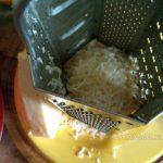 Сыр и терка