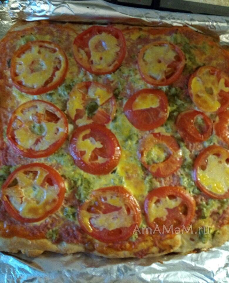 Приготовление вкусной пиццы на майонезе - рецепт и фото