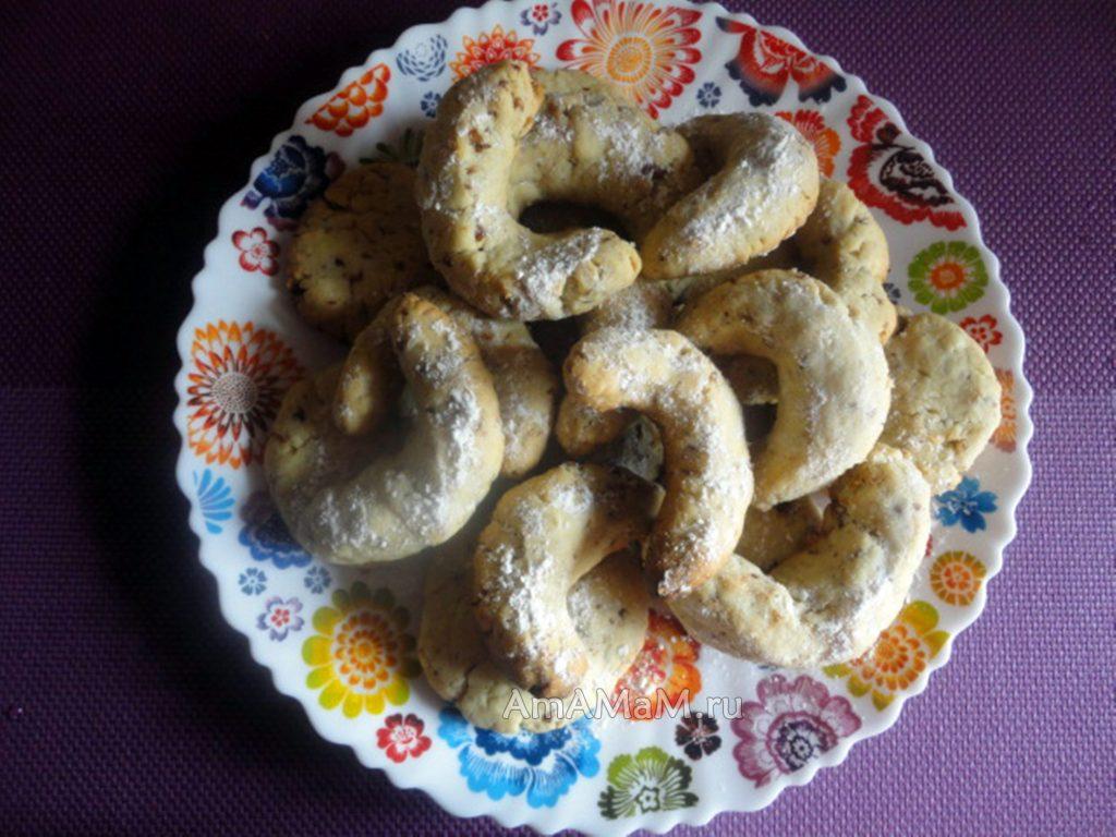 Приготовление орехового печенья своими руками в домашних условиях - рецепт и фото