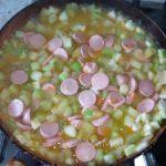 Приготовление рагу из кабачков и картошки