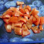 Фото помидоров, нарезанных кусочками