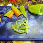 Сладкий перец - нарезка полосками