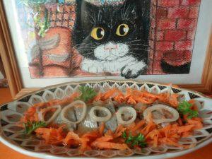 Приготовление маринованной голландской селедки - рецепт и фото