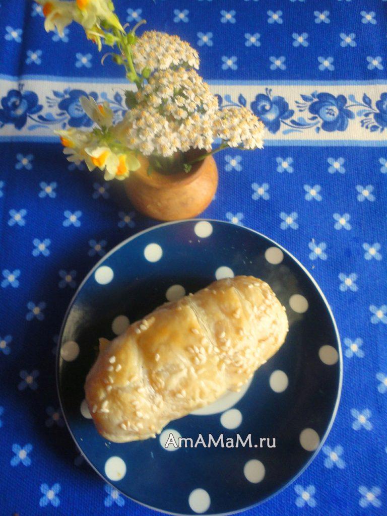 Рецепт домашних сосисок в тесте