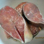 Фото и рецепт приготовления кеты в стейках