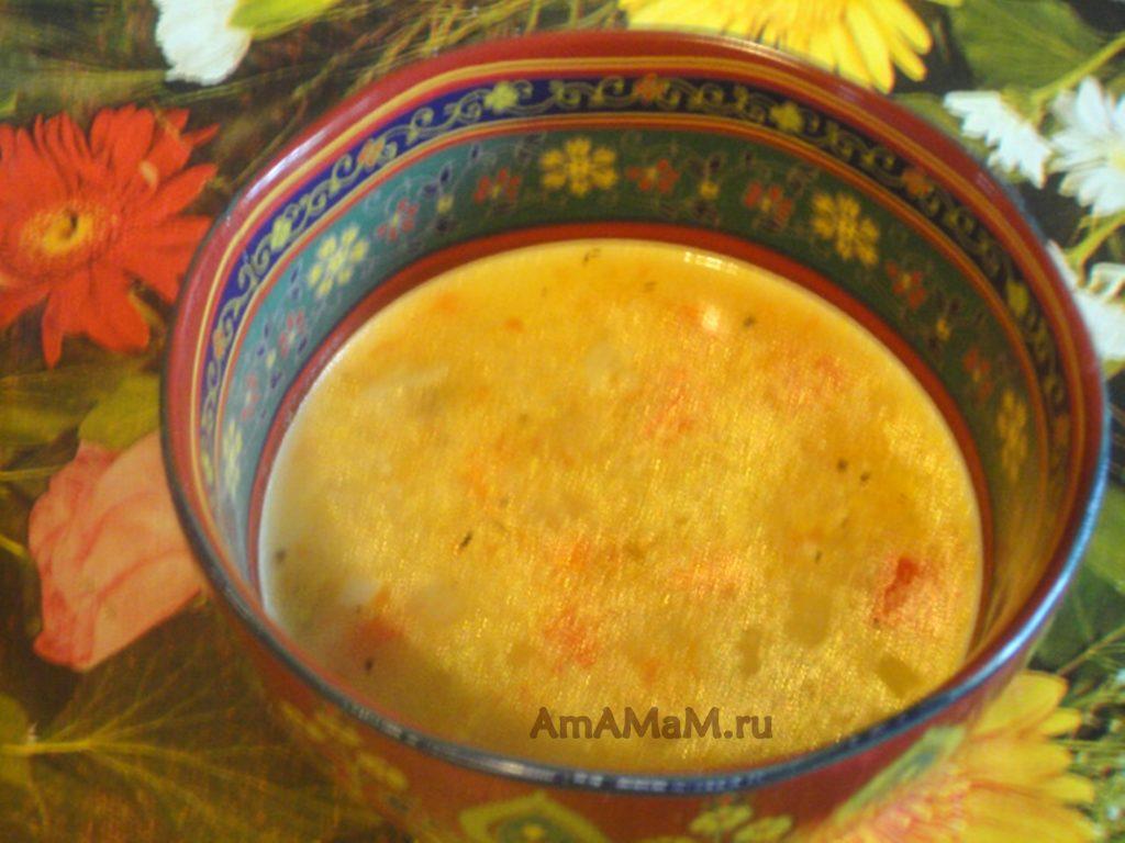 Рецепт кукурузного супа на баранине