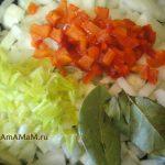 Приготовление зажарки для супа на баранине