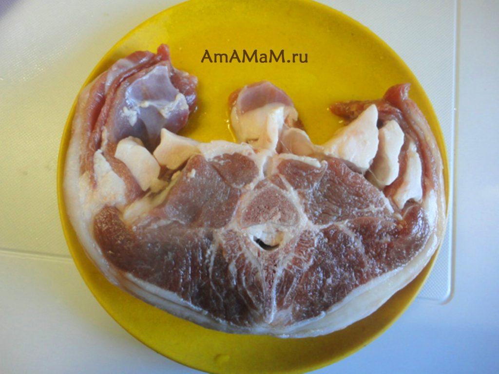 Кусок баранины - фото и рецепты