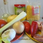 Что требуется для супа с бараниной и кукурузной крупой - овощи, специи, масло