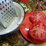 Как делать томатное пюре - крупная терка
