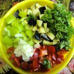 Как нарезать овощи для тушения кусочками