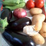 Бриам - тушеные-запеченные овощи по-гречески