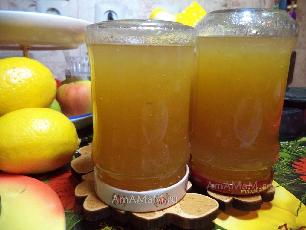 Лимонный джем из дыни