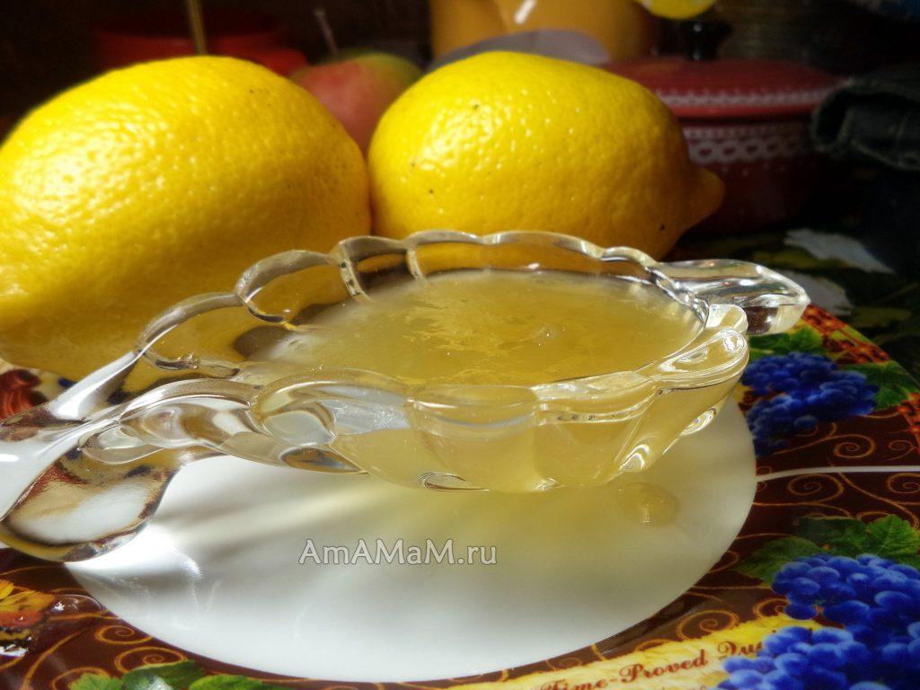 Джем из дыни и лимонов