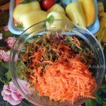 Морковка с баклажанами