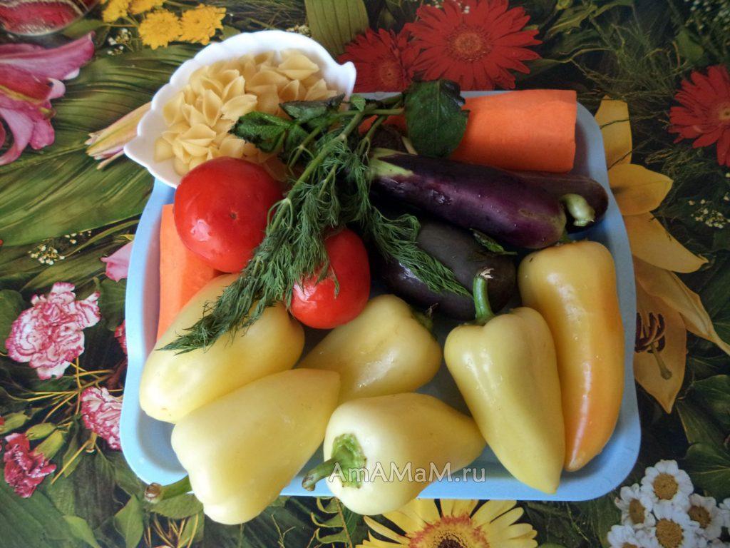 Перец фаршированный с макаронами - рецепт и состав