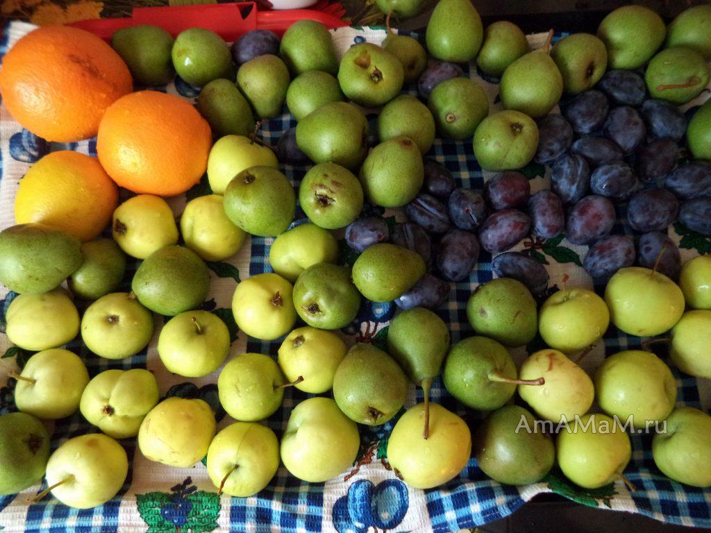 Приготовление компота из груш на зиму рецепт и фото