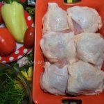 Бедрышки с овощами и макаронами - рецепт