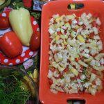 Блюда из курицы и овощей - гювеч с макаронами