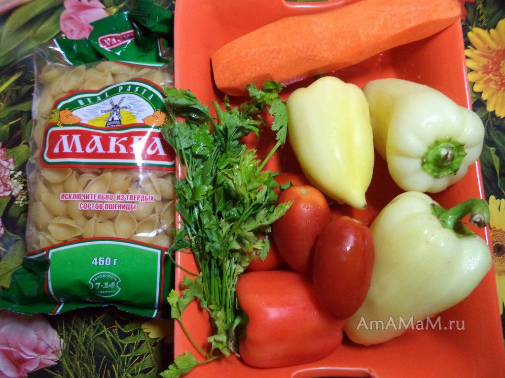 Гювеч из курицы с макаронами- рецепт