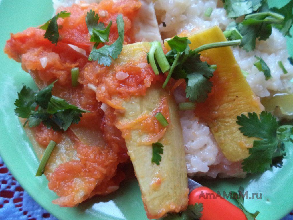 Закуска из кабачков дольками - рецепт заготовки