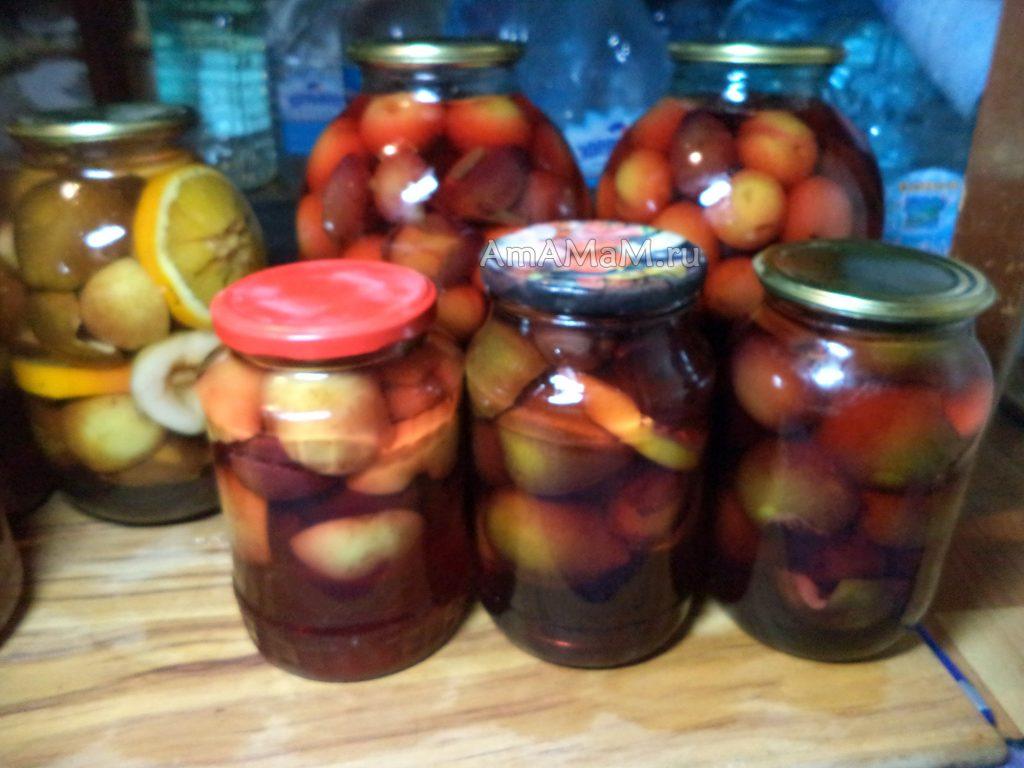 Рецепты компотов на зиму с грушами