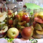 Заготовка брусничного компота- рецепты