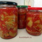 Консервирование баклажанов в томате - рецепт и фото