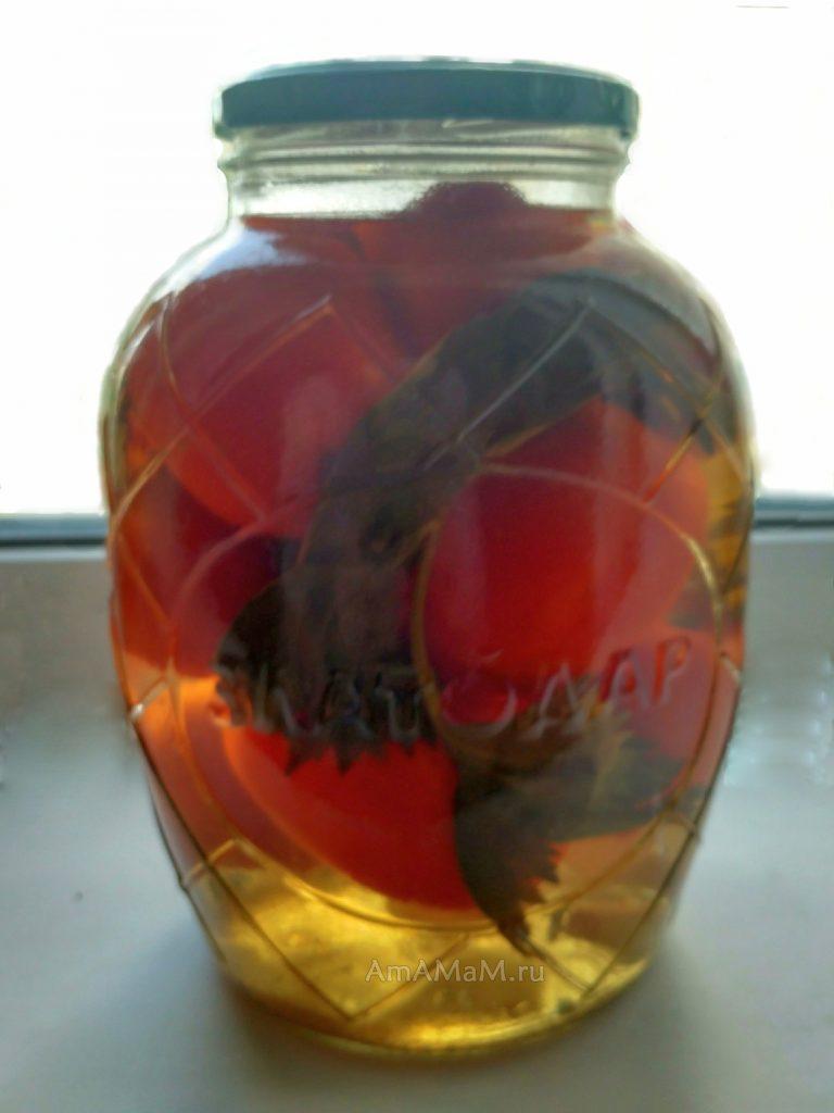Как делать маринованные помидоры- простой рецепт
