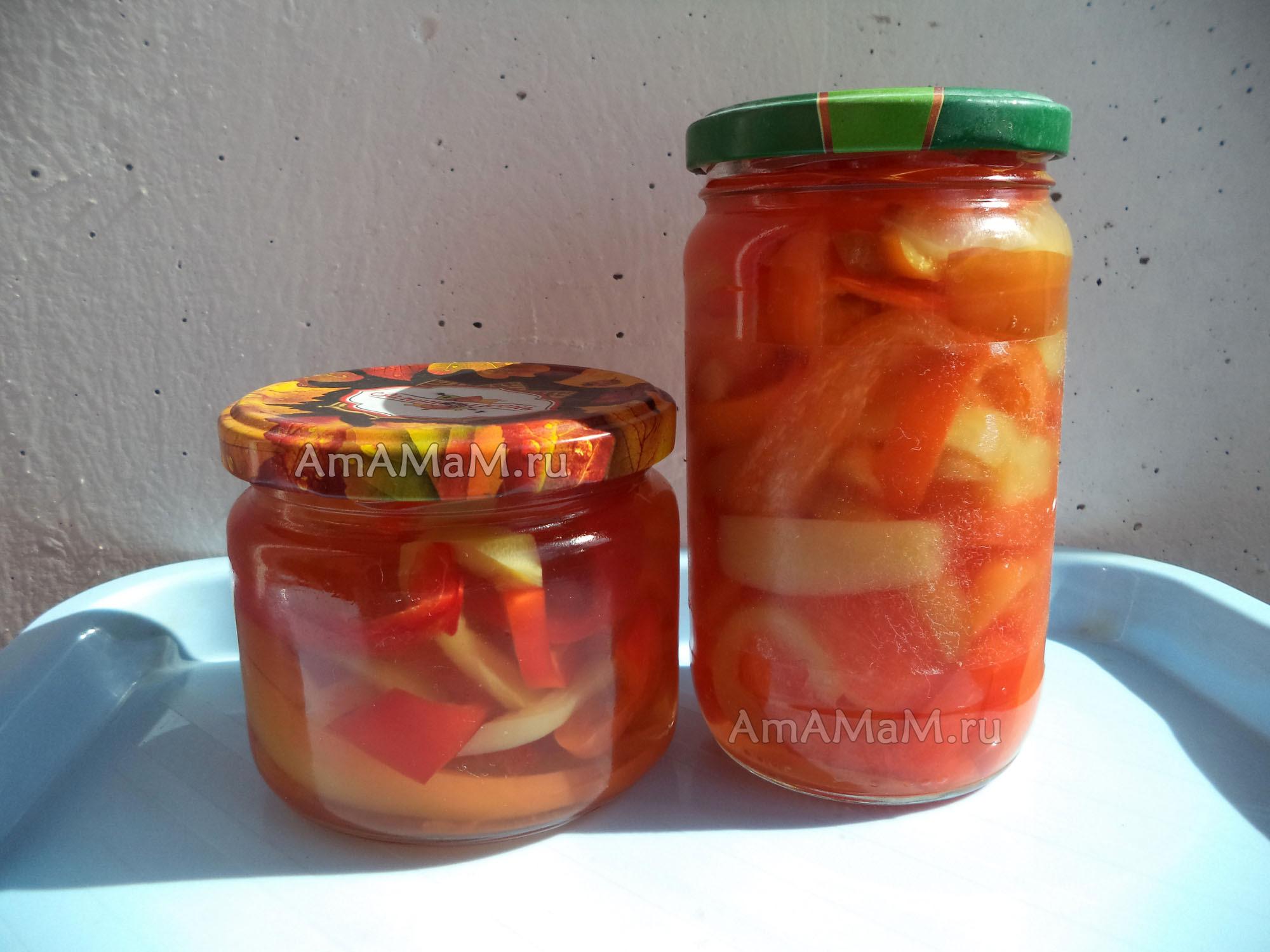 Маринованный перец рецепт маринада от Бабушки Эммы 2